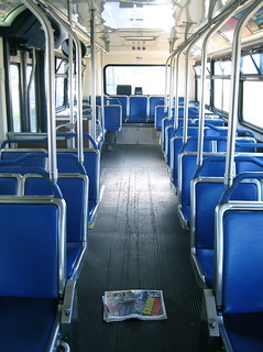 Inside of Bus | by Carolyn Coles