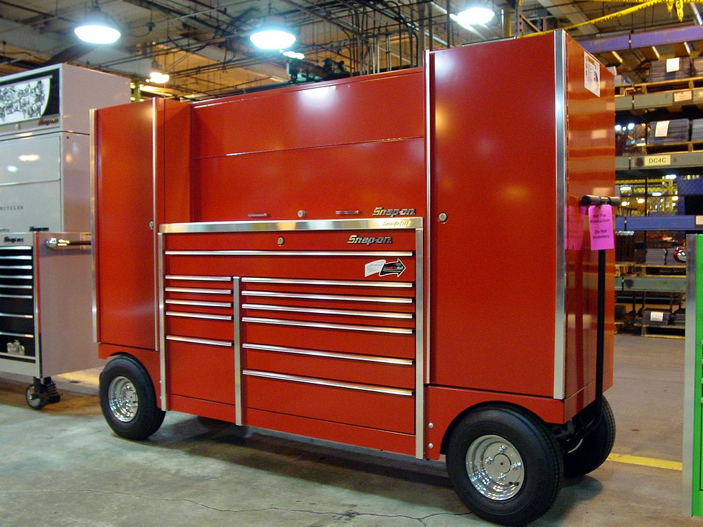 Snap On Tool Chest Pit Cart A Box We Make Davin Flickr