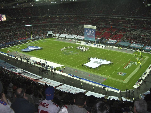 American Football, Wembley