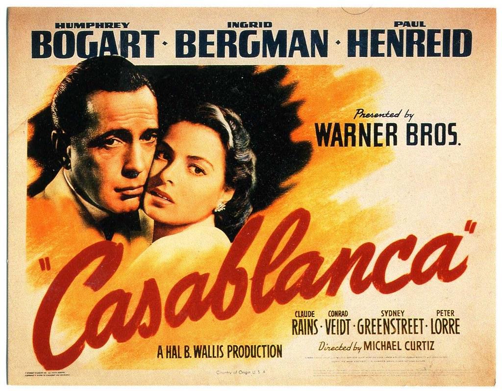 Casablanca movie poster | Arash in LA | Flickr