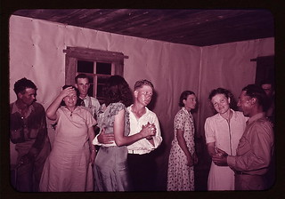 Scene at square dance in rural home in McIntosh County, Oklahoma  (LOC) | by The Library of Congress