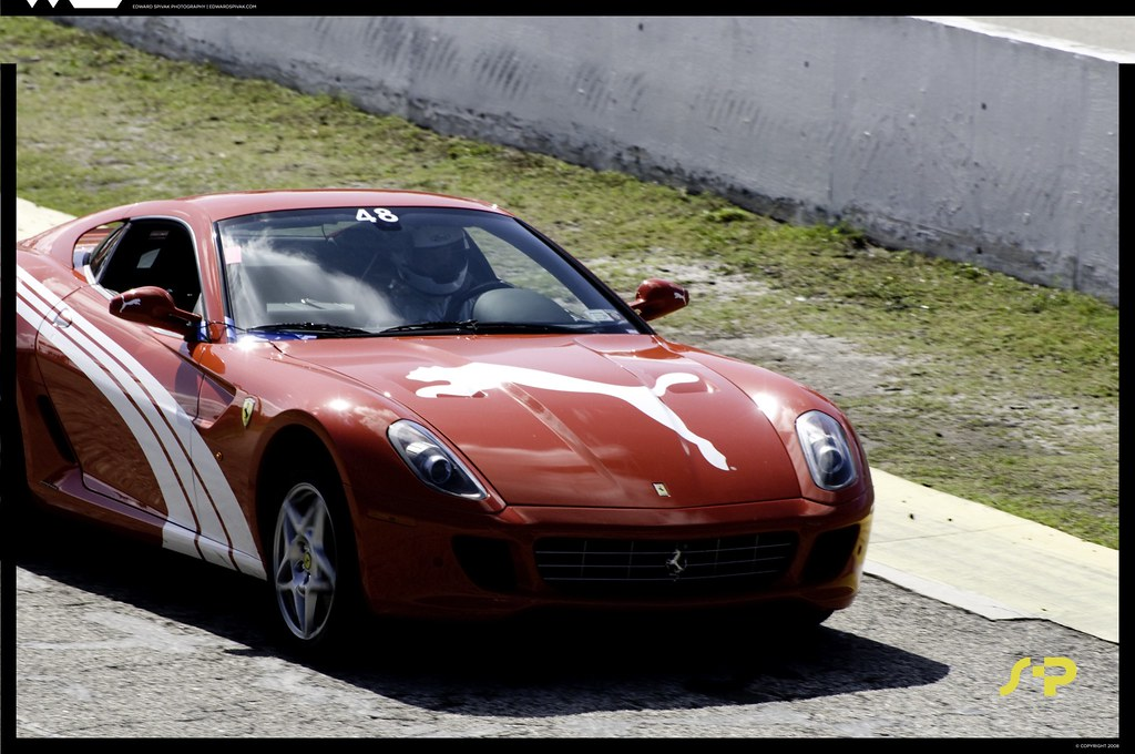 Not Just Shoes Ferrari 599 Gtb With Puma Livery The Vehic Flickr