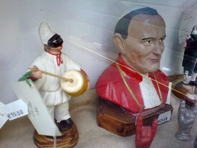 Pope and Pulcinella