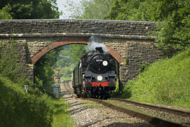 British Railways Standard Class 4MT Tank Locomotive No.80151