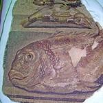 113. Museu de Ptolemaida. Mosaic amb peixos