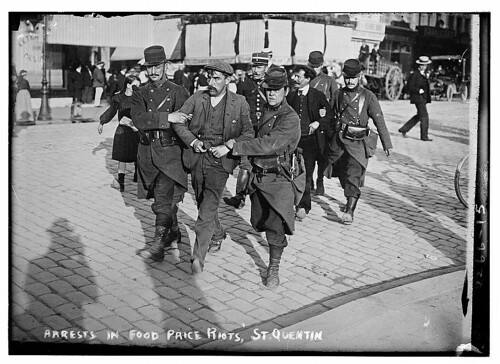 Arrests in Food Price Riots, St. Quentin  (LOC) | by The Library of Congress