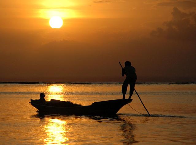 Man and Boy (at Lembongan Island)
