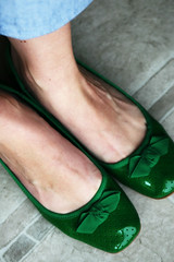 Green Shoes | by jessicacornman