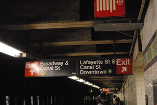 Canal Street Subway | by The All-Nite Images