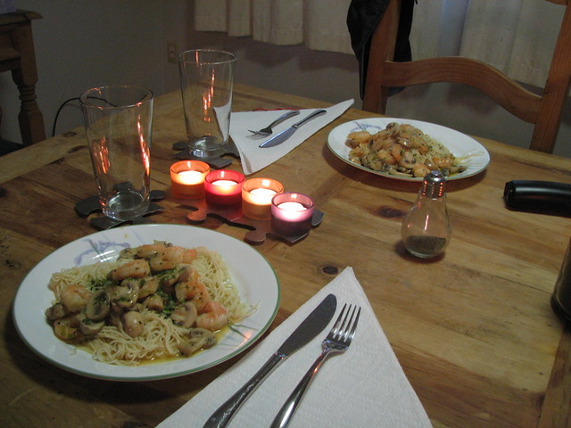 Shrimp Dinner for Two