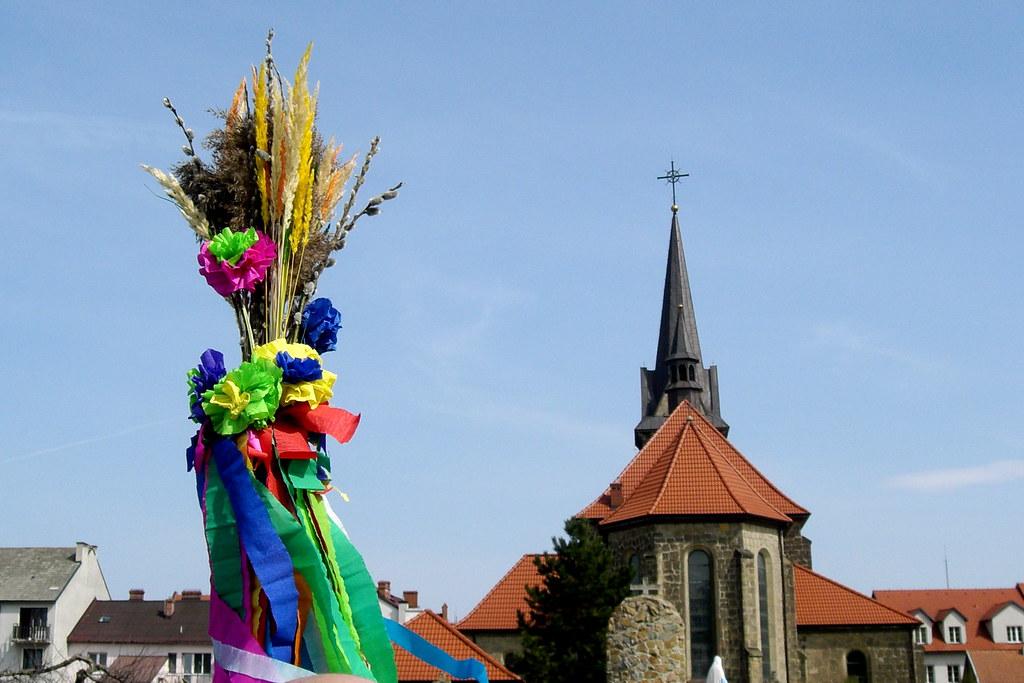 Palm Sunday in Dobczyce