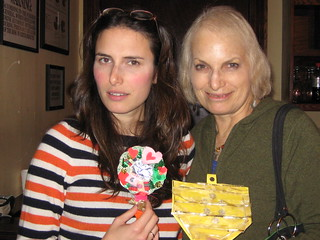 Jessi and Phyllis show their mother-daughter crafting prowess!