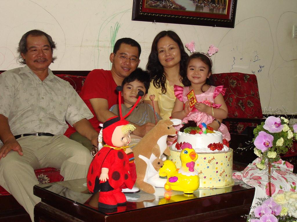Sinh nhật Xu Xu 3 tuổi