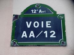 Voie AA/12 | by f-auto