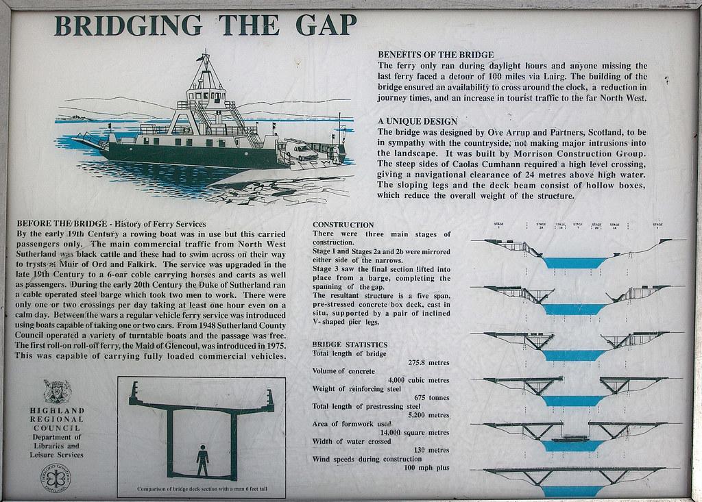 Kylesku Bridge Information by mijoli