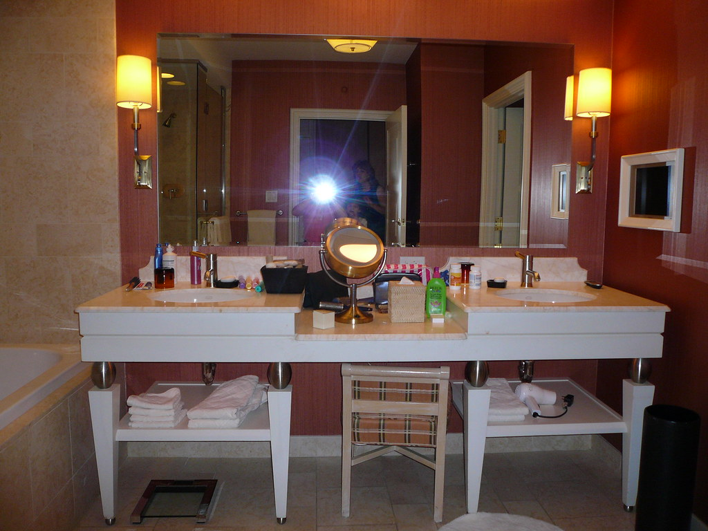 Las Vegas Wynn Hotel Bathroom Vanity Feel Free To Re Use T Flickr