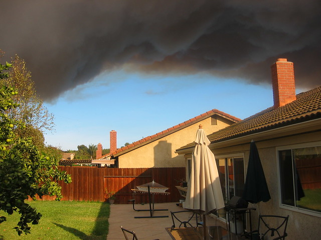 Smoke from