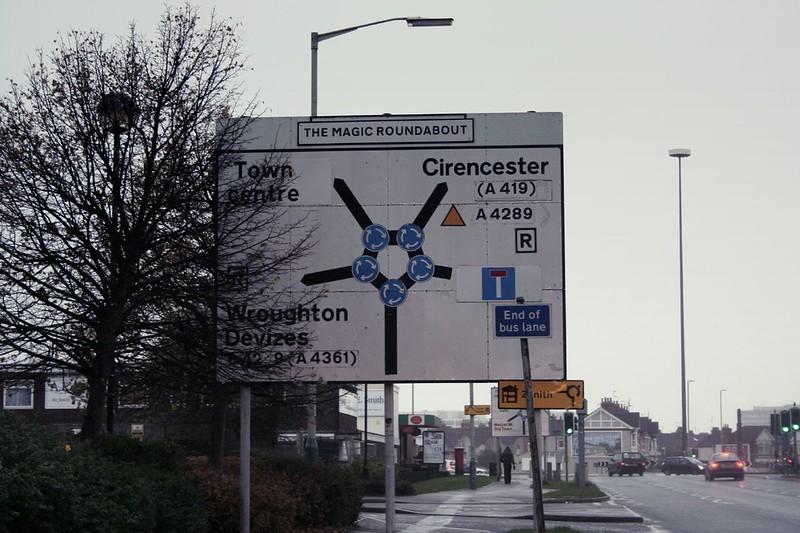 The magic roundabout, Swindon