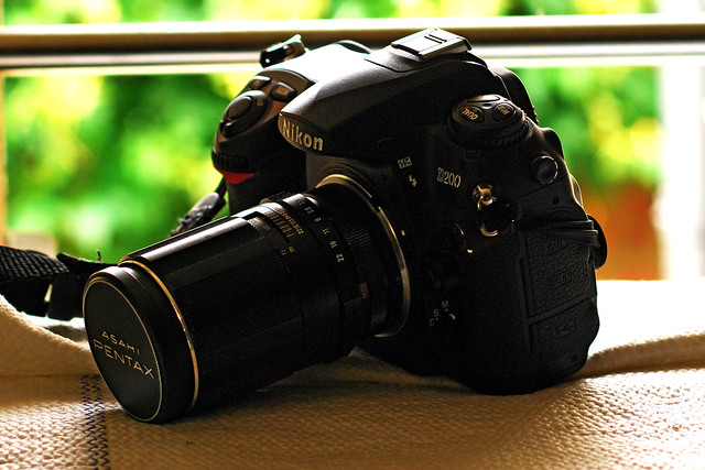 Nikon D200 & Super Takumar 135