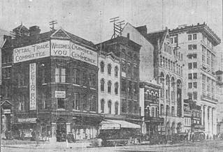 1300 block of E Street, NW (demolished)