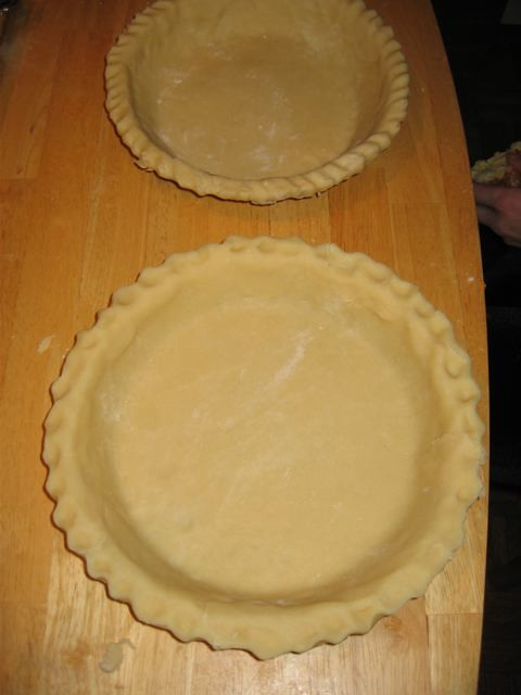 Unbaked Foolproof Pie Crusts
