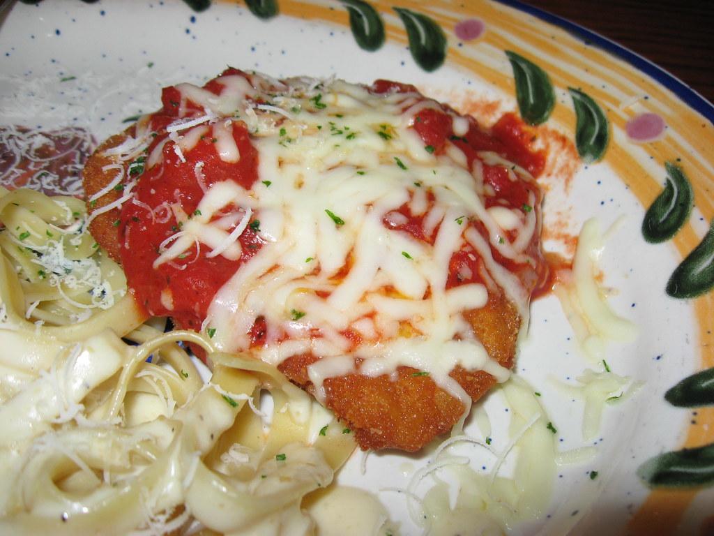 Olive Garden Chicken Parmigiana Olive Garden Parmesan Br Flickr