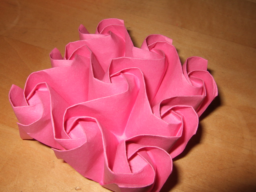 Origami-Instructions.com: Kawasaki Rose, version 2 | 768x1024