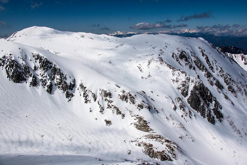 冬の木曽駒ヶ岳