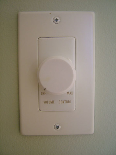 Volume Control in Main Rooms   by cletch