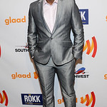 Gbenga Akinnagbe walks the blue carpet at the 22nd Annual GLAAD Media Awards  at San Francisco Marriott Marquis on May 14, 2011 in San Francisco, California.