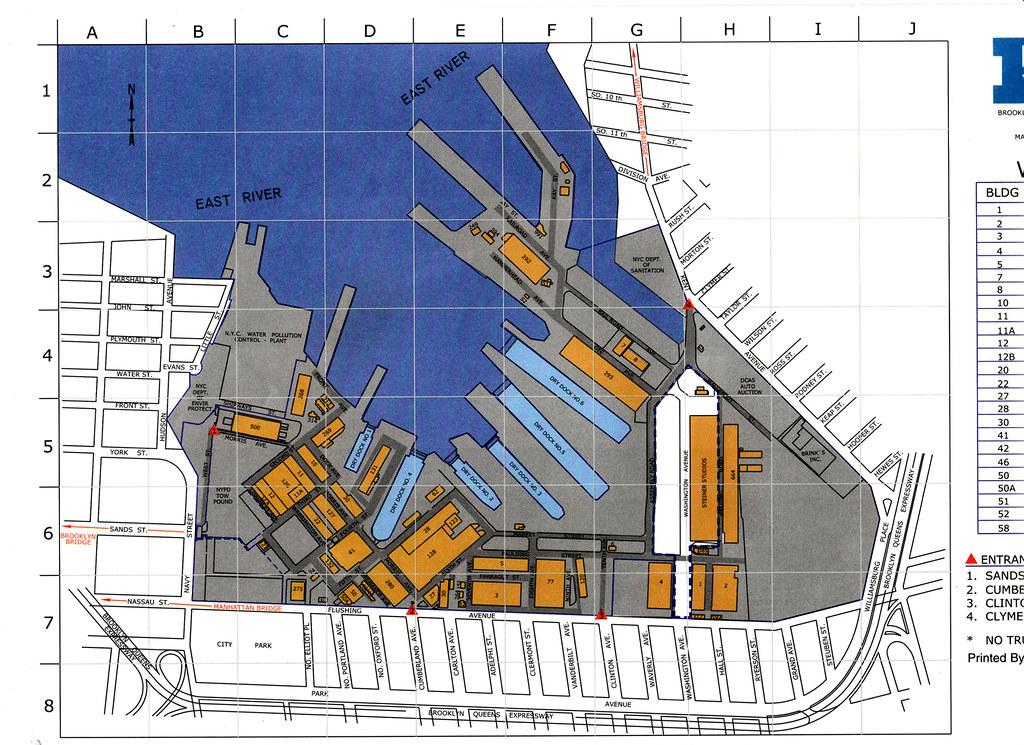 Brooklyn Navy Yard Map brooklyn navy yard map | Jim | Flickr