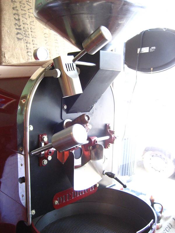 roaster at sidamo coffee