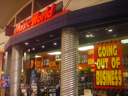 RIP Music World | by SqueakyMarmot