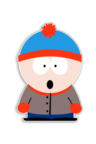 Stan - South Park (iPhone wallpapers and iPod Touch backgrounds) | by igadgetszone.