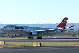 NWA 5 to Tokyo - A330 | by Red Barnes
