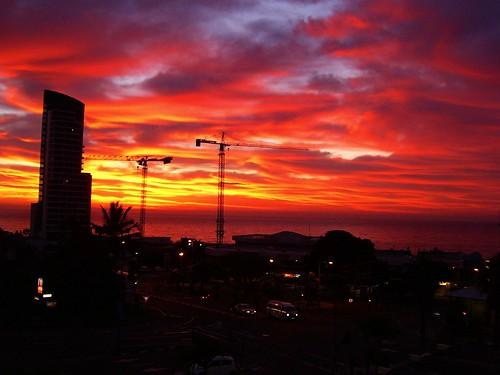 red natal sunrise southafrica kwazulunatal umhlanga fireflyafrica jonkerfourie