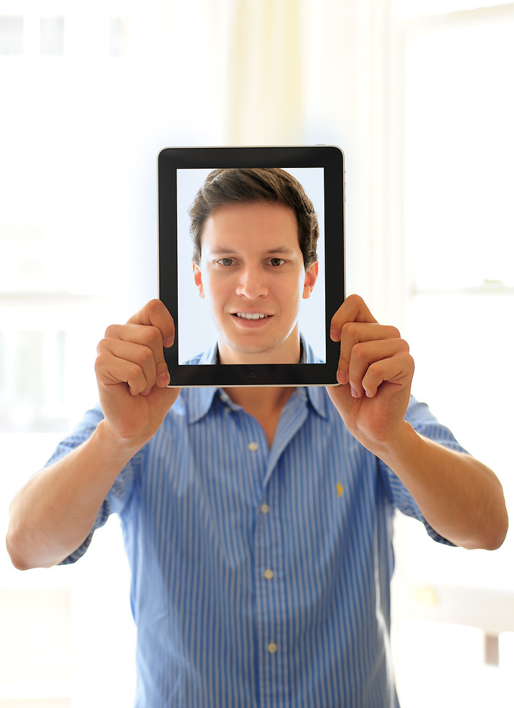 Boom, my new iPad is here! by Dominic Kamp