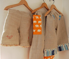 spring linen pants | by SouleMama