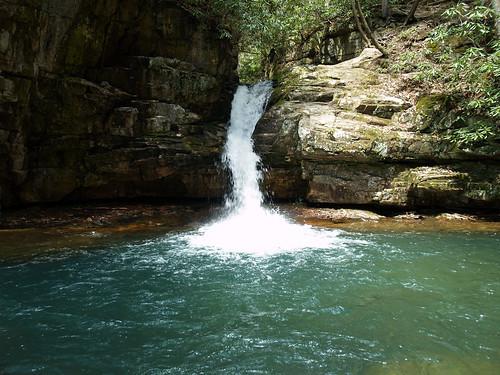 mountain wet water creek river waterfall rocks tennessee olympus bluelagoon mountainstream e500 thebluehole holstonmountain