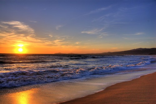 Half Moon Bay Sunset | by mischiru