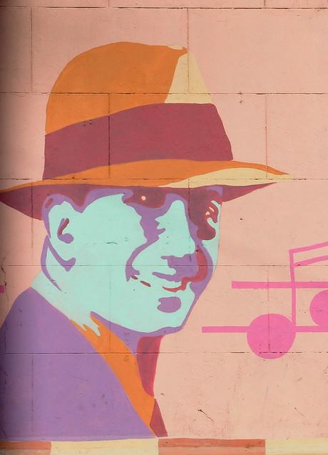 Mural_ Carlos Gardel