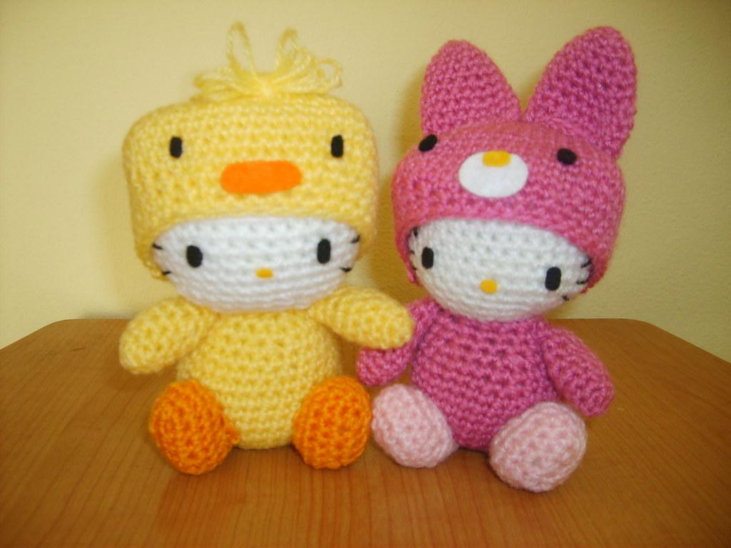 Big Hello Kitty Amigurumi Free Pattern | Hello kitty crochet ... | 768x1024