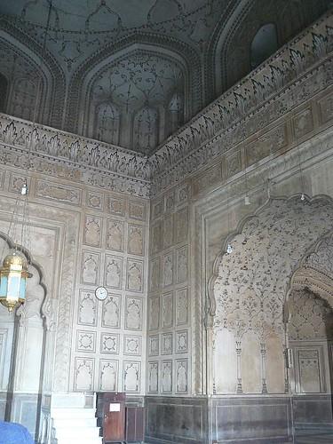 Badshai Mosque Interior   by Omer Wazir