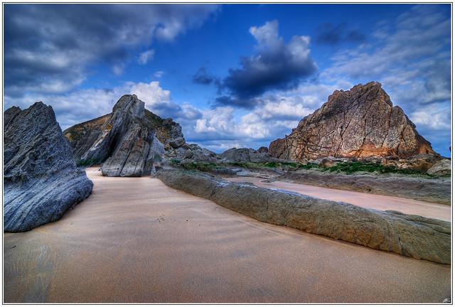 Playa de la Arnía (Cantabria - Spain)