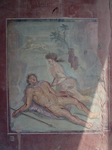 Wall Painting at Pompeii