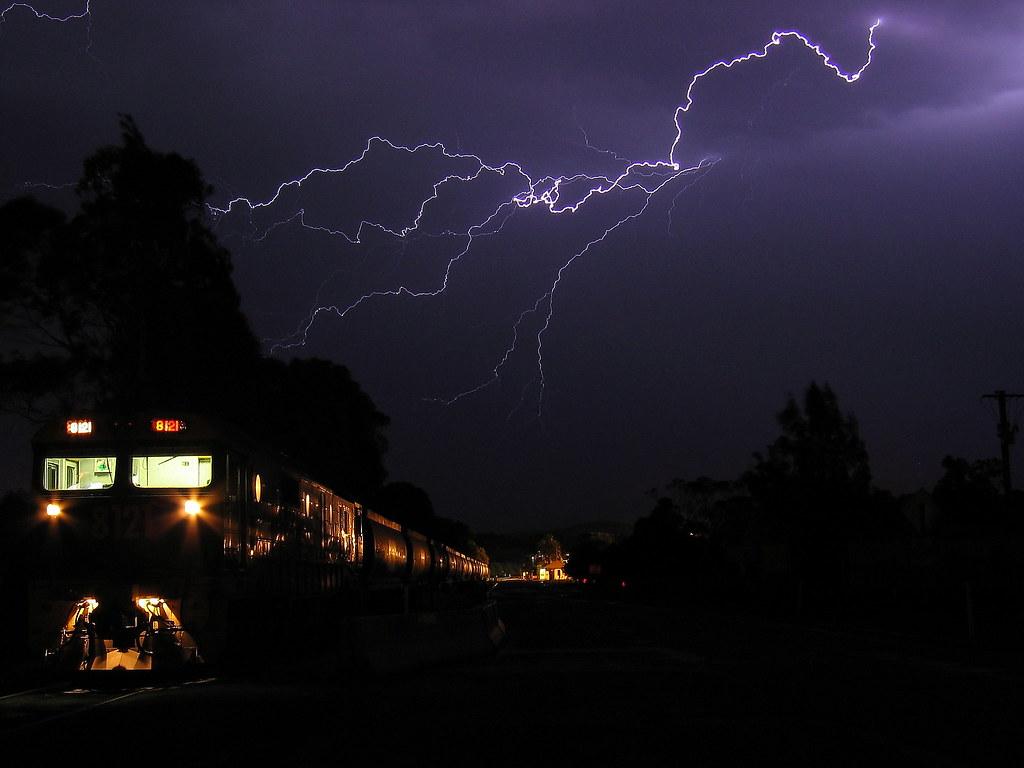 lighting strikes by Robert Cook