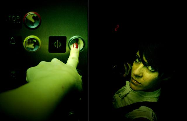 Sfidare la claustrofobia (lo sanno tutti che ho paura dell'ascensore)