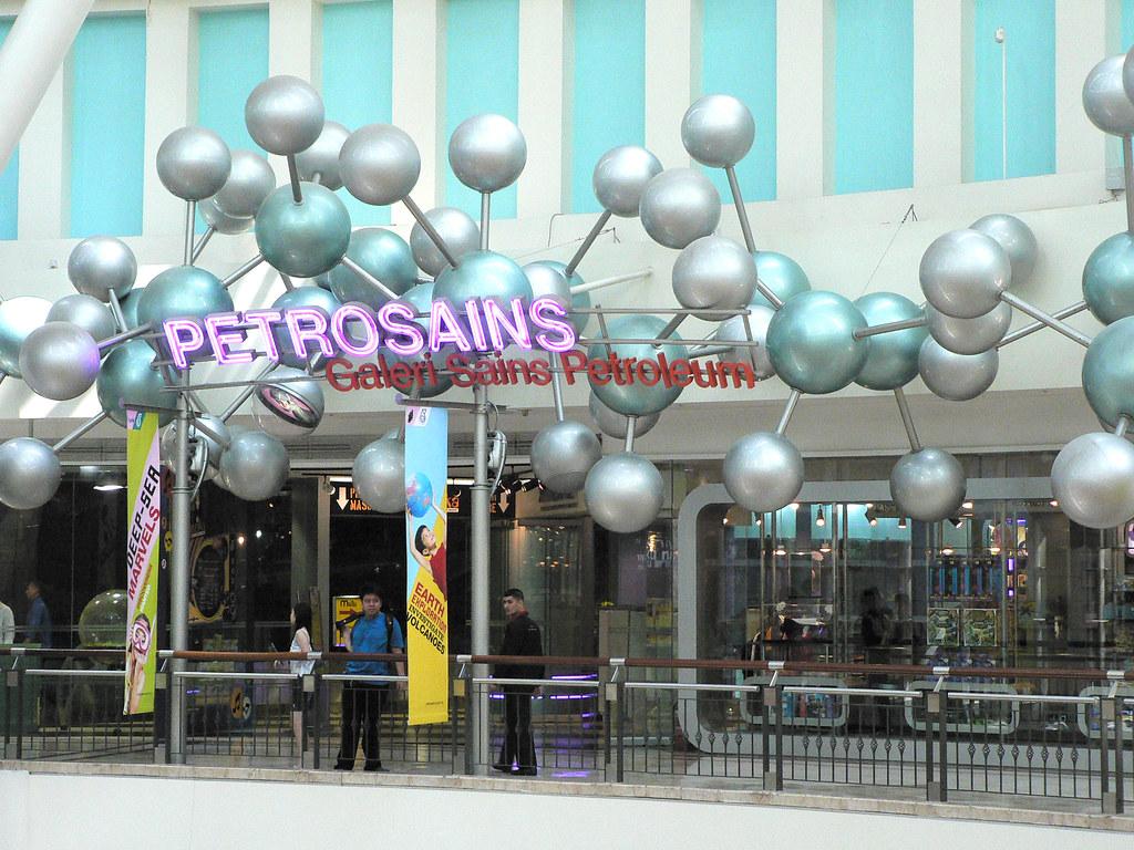 Petrosains, The Discovery Centre  Kuala Lumpur luggage Storage lockers