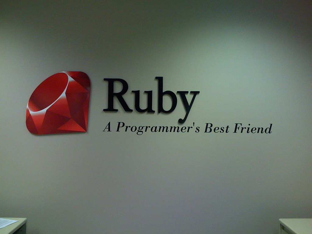 Ruby Sign One Of Our Clients Has Decorated His Office With Flickr