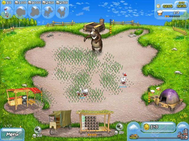 Farm Frenzy - Screenshot 1 | Free Game Download Farm Frenzy
